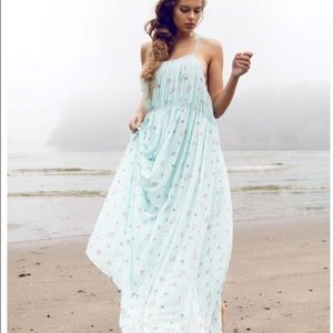 Wildfox Seashell Maxi Dress